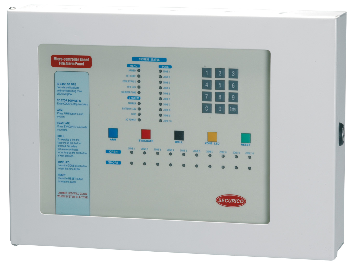 Famous Smoke Detector Control Panel Collection - Electrical and ...